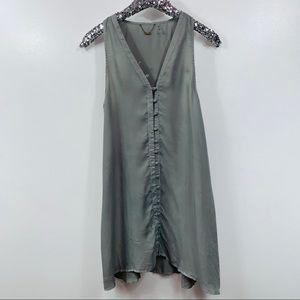 YFB Young Fabulous & Broke Silver Trapeze Dress